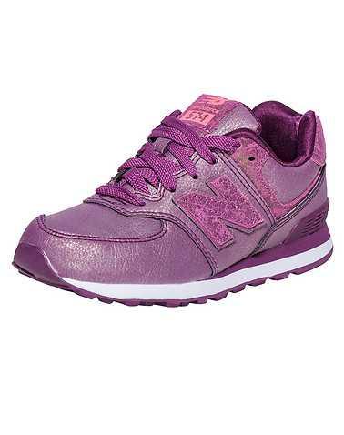 NEW BALANCE BOYS Purple Footwear / Sneakers 2