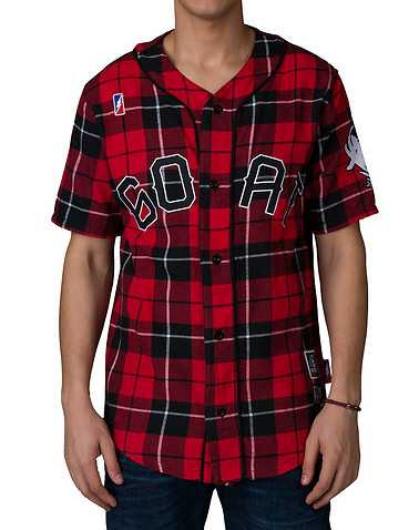 POST GAMEENS Red Clothing / Button Down Shirts
