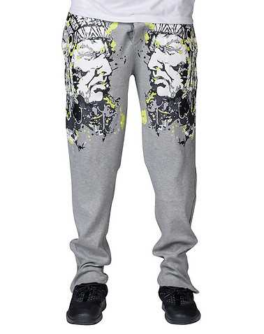 HUSTLE GANG MENS Grey Clothing / Sweatpants S