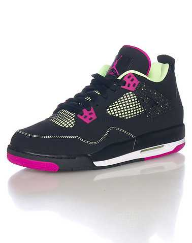 JORDAN GIRLS Black Footwear / Basketball