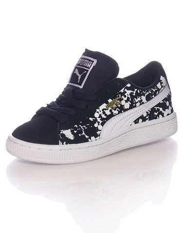 PUMA BOYS Black Footwear / Sneakers