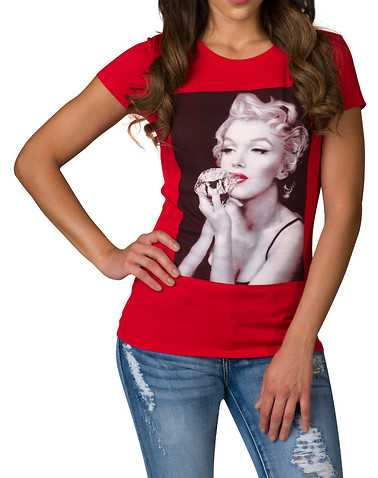 HYBRID WOMENS Red Clothing / Tops
