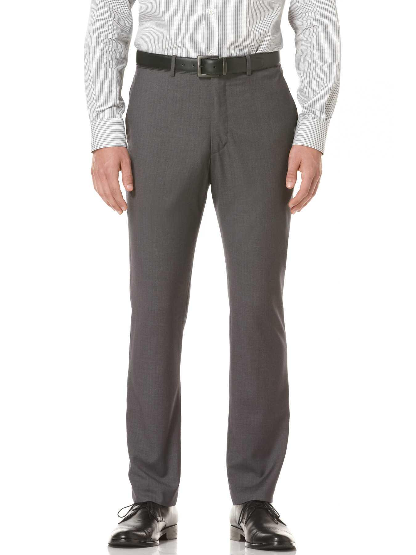 Perry Ellis Slim Fit Solid Portfolio Pant