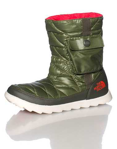 THE NORTH FACE WOMENS Green Footwear / Boots 6