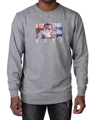 DOPEENS Grey Clothing / Sweatshirts