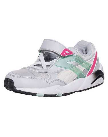 PUMA GIRLS Silver Footwear / Sneakers