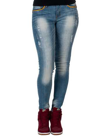 VILLAGE JEANS WOMENS Blue Clothing / Jeans