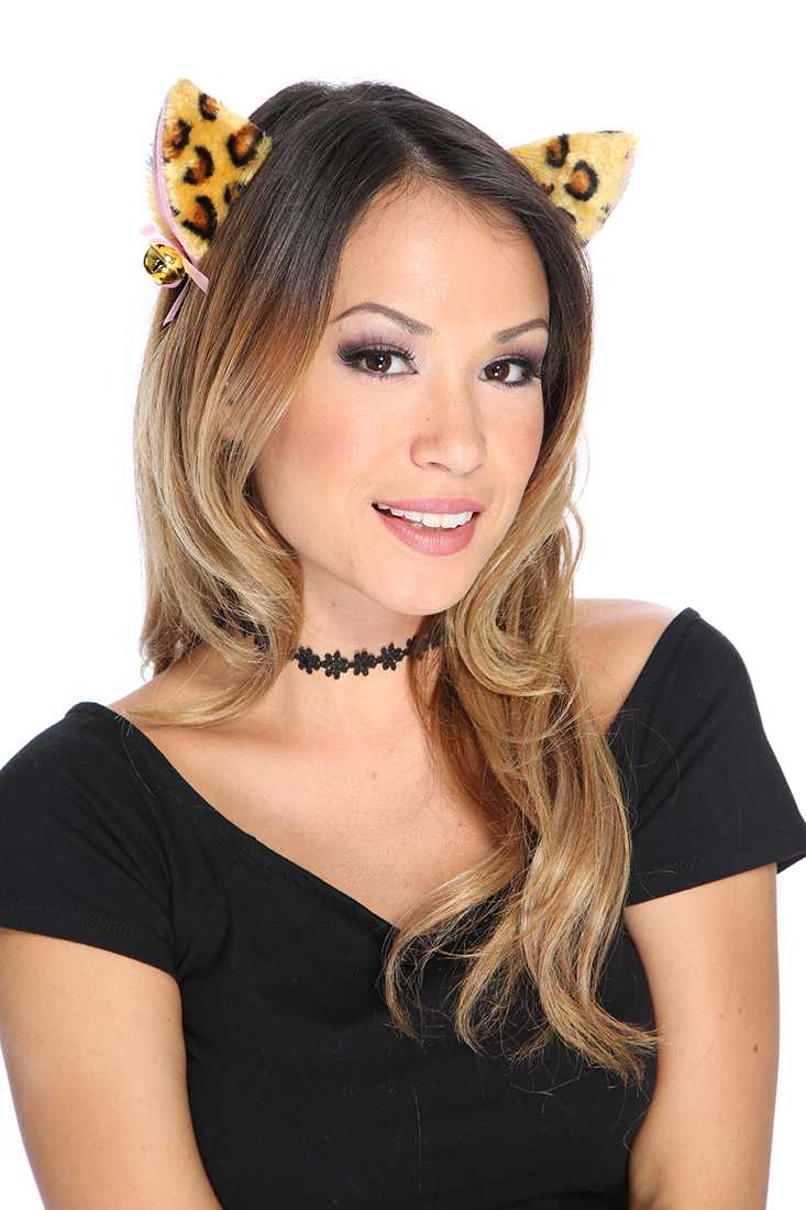 Leopard Ears Head Band Costume Accessories