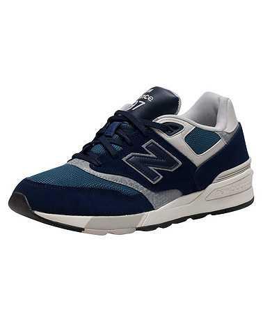 NEW BALANCE MENS Dark Blue Footwear / Sneakers