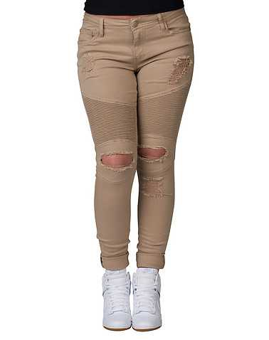 ESSENTIALS WOMENS Beige-Khaki Clothing / Bottoms