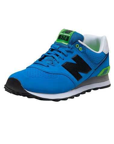 NEW BALANCE MENS Blue Footwear / Sneakers