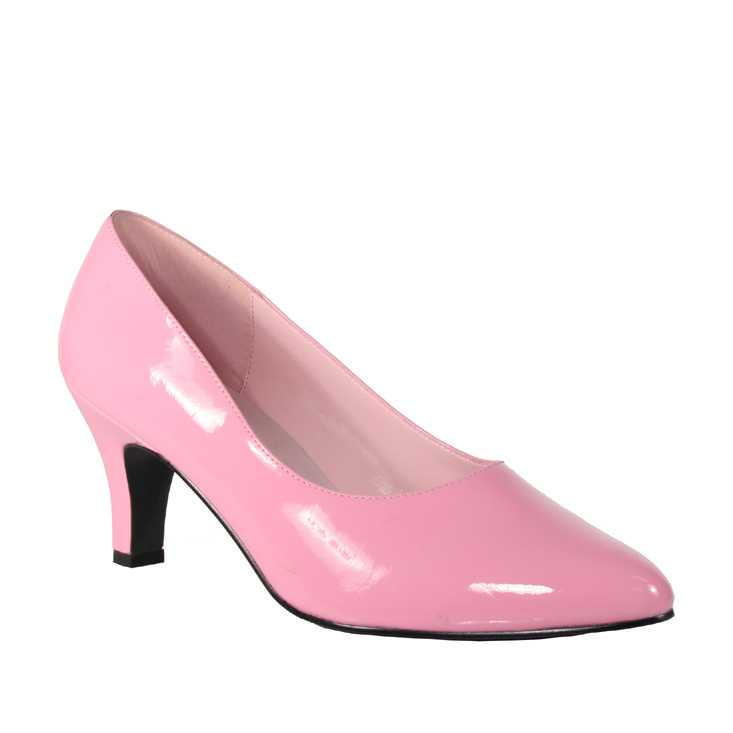 Baby Pink Patent Pointed Toe Pump High Heels