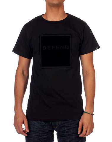 DEFEND PARIS MENS Black Clothing / Tops 3X