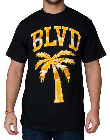 BLVD SUPPLY MENS Black Clothing / Tops S