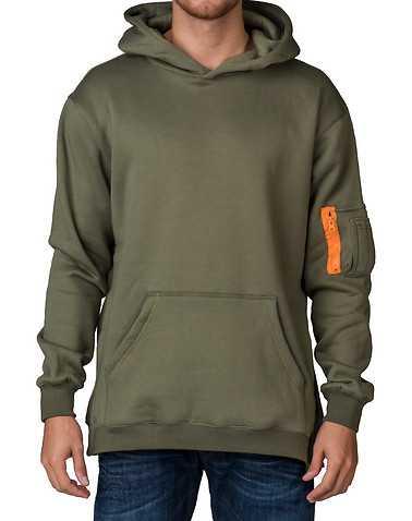 EPTM MENS Green Clothing / Sweatshirts S