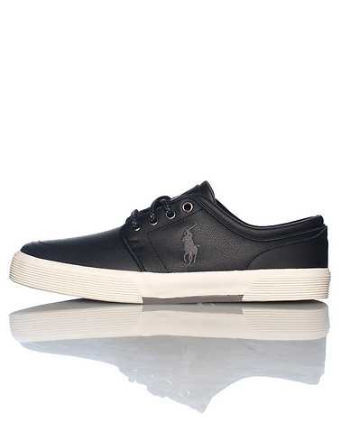 POLO FOOTWEAR MENS Black Footwear / Casual 8.5
