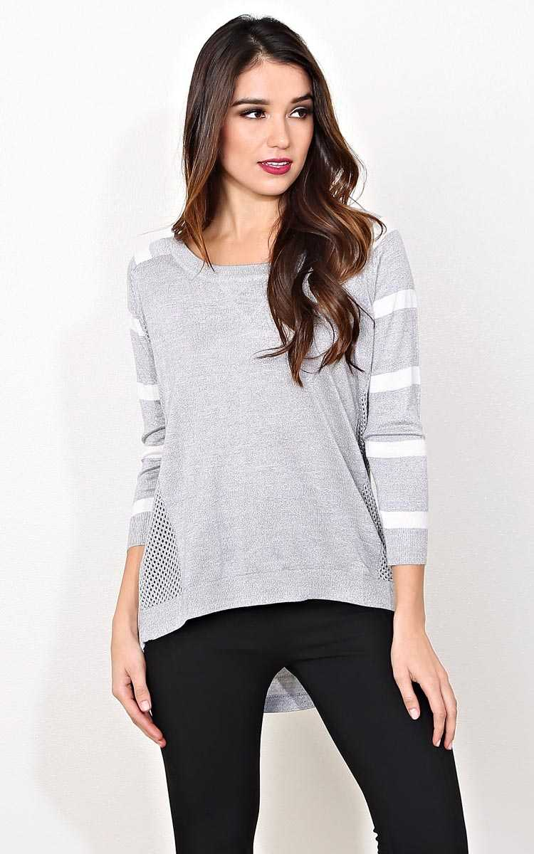 Cassidy Knit Sweater - MED - Combo in Size Medium by Styles For Less