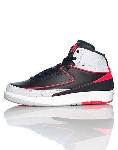 JORDAN BOYS Grey Footwear / Sneakers 5Y