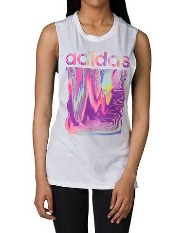 adidas WOMENS White Clothing / Tank Tops