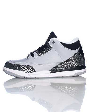 JORDAN BOYS Grey Footwear / Sneakers 1Y