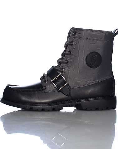 POLO FOOTWEAR BOYS Black Footwear / Boots 5.5