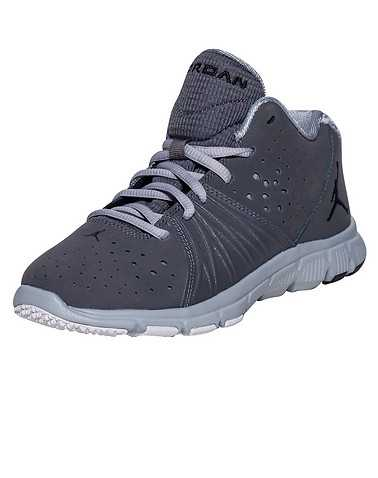 JORDAN BOYS Dark Grey Footwear / Sneakers 2Y