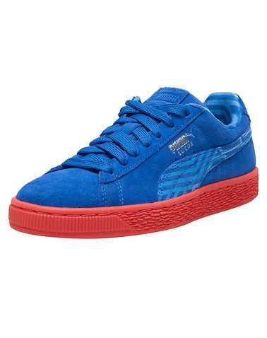 PUMA WOMENS Blue Footwear / Sneakers