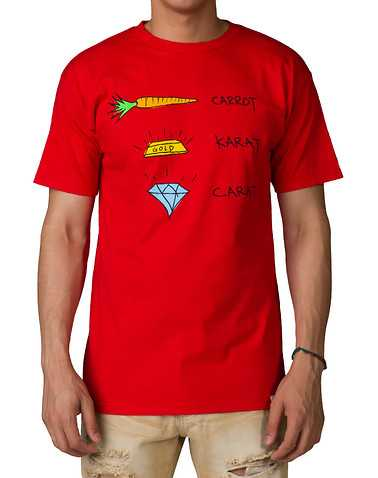 DIAMOND SUPPLY COMPANYENS Red Clothing / Tops