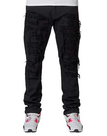 DECIBEL MENS Black Clothing / Jeans