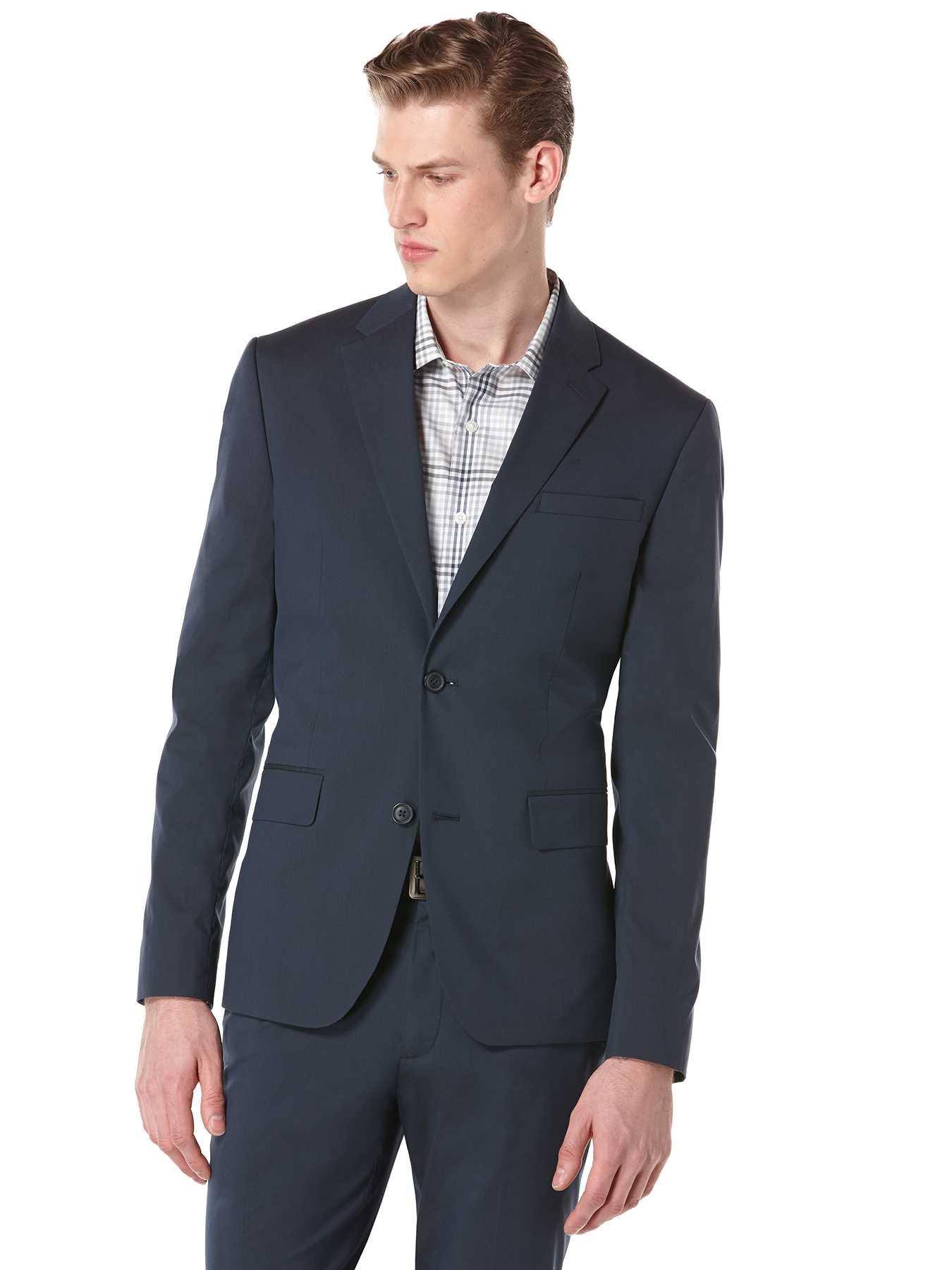 Perry Ellis Very Slim Iridescent Suit Jacket