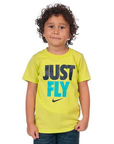 NIKE BOYS Yellow Clothing / Short Sleeve T-Shirts L / 6