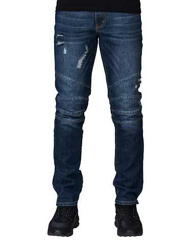 RUSTIC DIME MENS Blue Clothing / Jeans 36