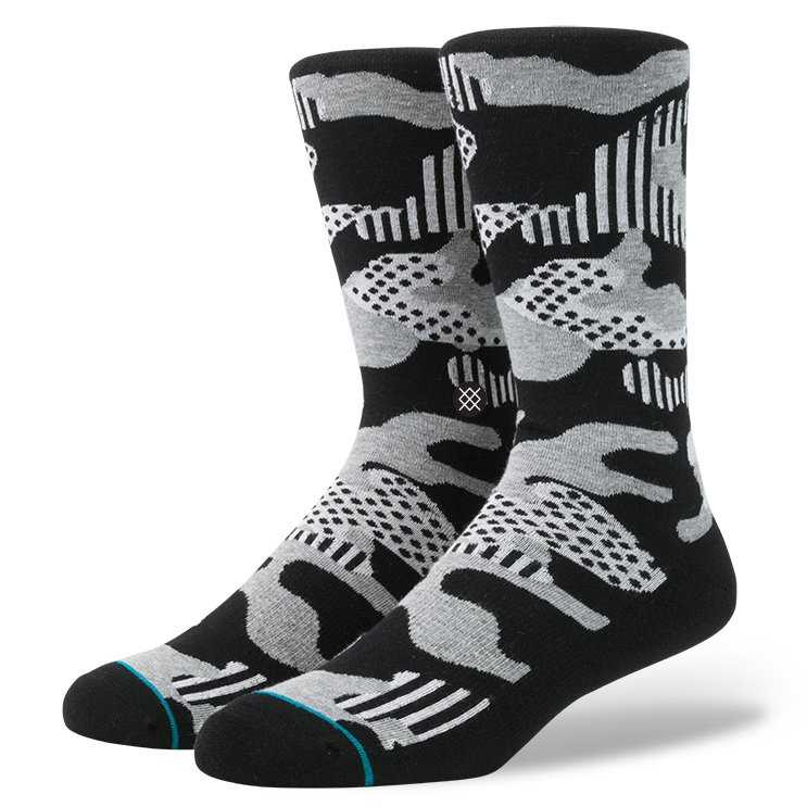 Stance Smokescreen BLK M anthem Socks