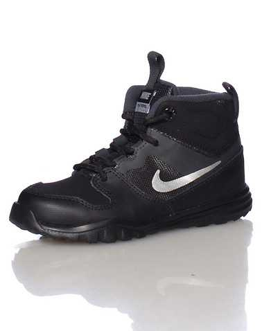 NIKE BOYS Black Footwear / Boots 4C