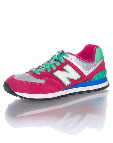 NEW BALANCE WOMENS Pink Footwear / Sneakers 8.5