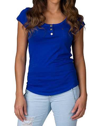 ESSENTIALS WOMENS Blue Clothing / Tops