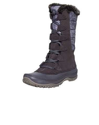 THE NORTH FACE WOMENS Dark Purple Footwear / Boots