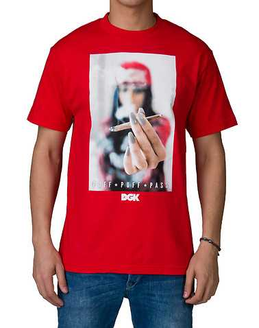 DGK MENS Red Clothing / Tops XL