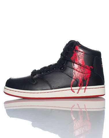 POLO FOOTWEAR MENS Black Footwear / Casual 10