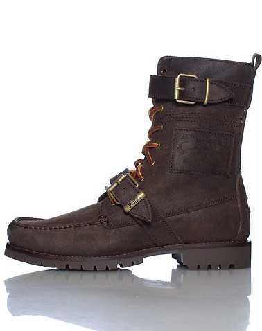 POLO FOOTWEAR MENS Dark Brown Footwear / Boots 8.5
