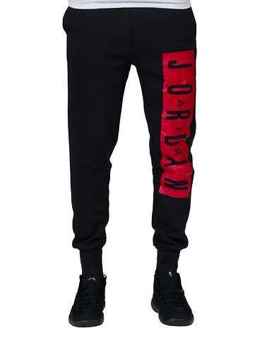 JORDAN MENS Black Clothing /weatpants