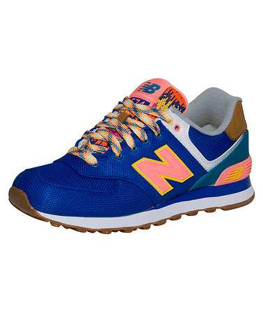 NEW BALANCE WOMENS Blue Footwear / Sneakers