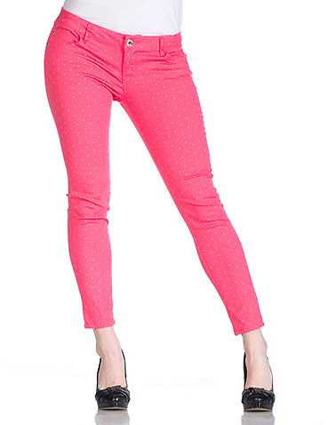 ESSENTIALS WOMENS Pink Clothing / Jeans 1