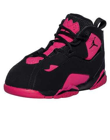 JORDAN GIRLS Black Footwear / Sneakers 4C