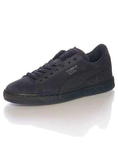 PUMA BOYS Dark Grey Footwear / Sneakers