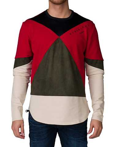 VIE RICHE MENS Red Clothing / Sweatshirts XXL