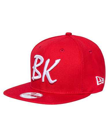 NEW ERA MENS Red Accessories / Caps Snapback One Size