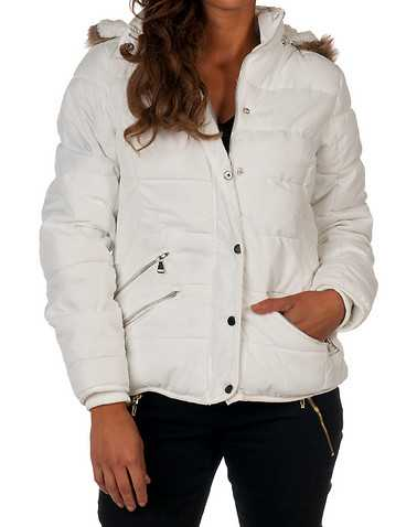 YMI WOMENS White Clothing / Heavy Jackets L