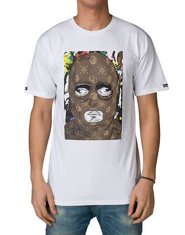 CROOKS AND CASTLES MENS White Clothing / Tops