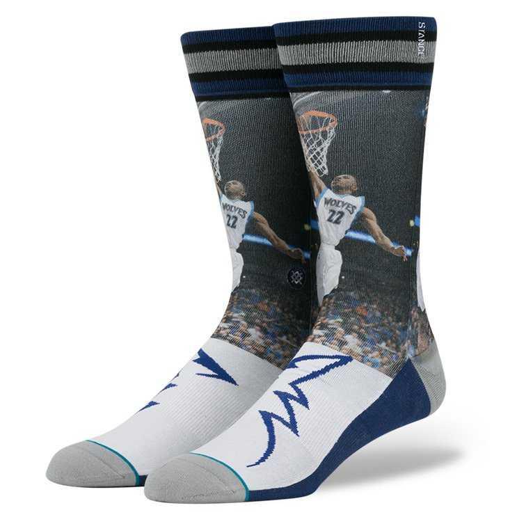 Stance Andrew Wiggins BLU L NBA Future Legends Socks